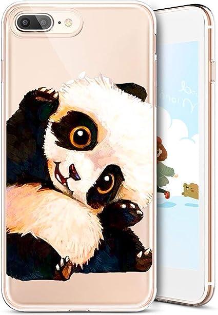 Felfy Custodia iPhone 8 Plus,Cover iPhone 7 Plus Trasparente ...