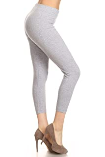 40cc611f04f Leggings Depot Women s Premium Quality Ultra Soft Cotton Spandex ...