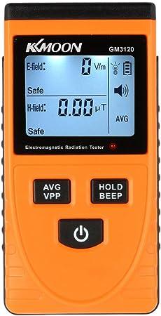 Detector de radiaci/ón digital ultravioleta Medidor UV Medidor probador de dos/ímetro UVI Medidor con pantalla de temperatura Color: negro