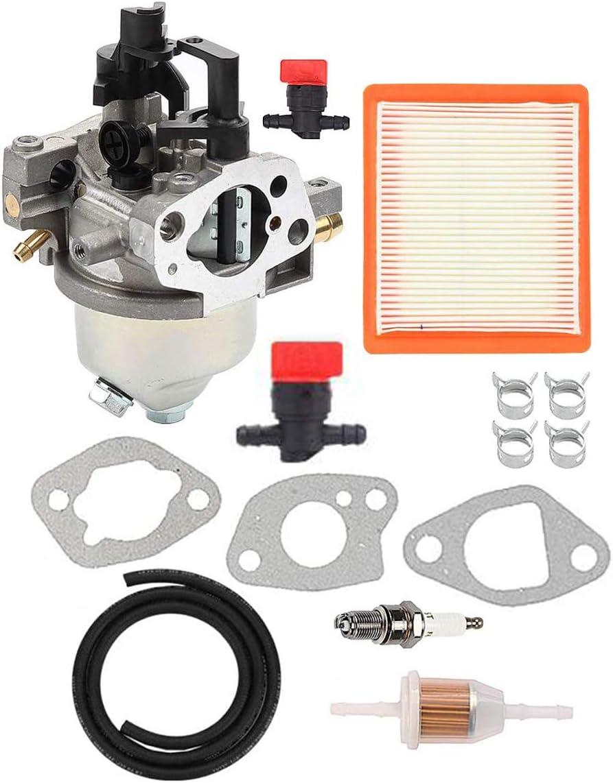 Hippotech 14853 49-S Juntas de línea de Combustible de carburador para Motor Kohler XT650 XT675 XT6.5 XT6.75 XT6 XT7 para cortacésped Toro