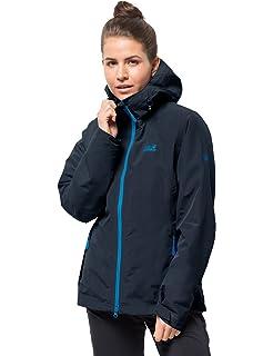 124314e02 Jack Wolfskin Gotland Women's 3-in-1 Jacket Waterproof Windproof Breathable  3-in