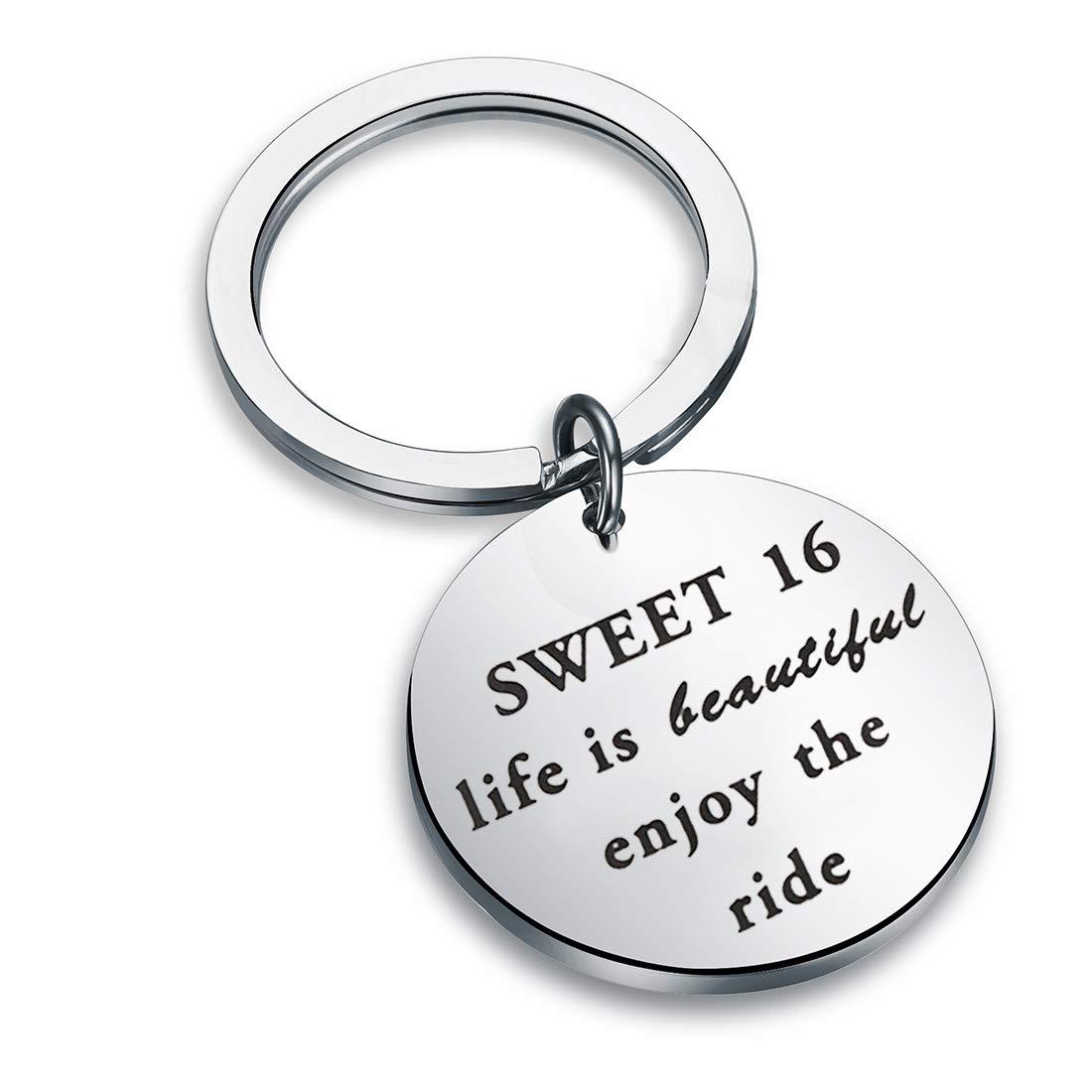 Amazon.com: maofaed Sweet 16 Regalo Life is Beautiful ...