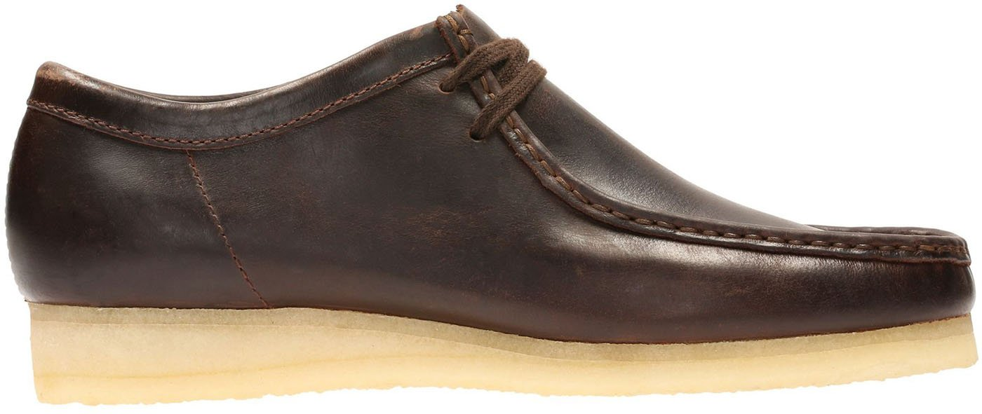 CLARKS Men's Wallabee Shoe B07762YPRS 9.5 D(M) US|Chestnut Leather