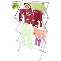 Wäscheständer Wäschetrockner Handtuchhalter platzsparender Handtuchständer ausziehbare Wäschespinne 9,25 Meter Trockenlänge 8 Ebenen original Made for us