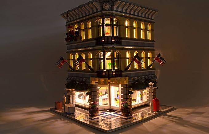 Brickstuff Warm White LED Strip Starter Kit Lights for Lego Buildings / Models / Doll Houses & Brickstuff Warm White LED Strip Starter Kit Lights for Lego ...
