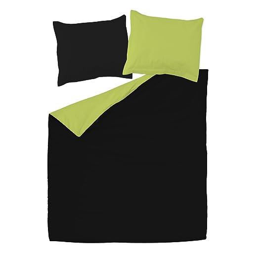 SoulBedroom Black & Green (Negro y Verde) Juego de Cama ...