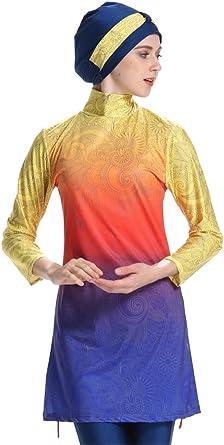 TianMai Women/Muslim/Swimwear/Islamic/Modest/Swimsuit/Full/Body/Beachwear/Burkini