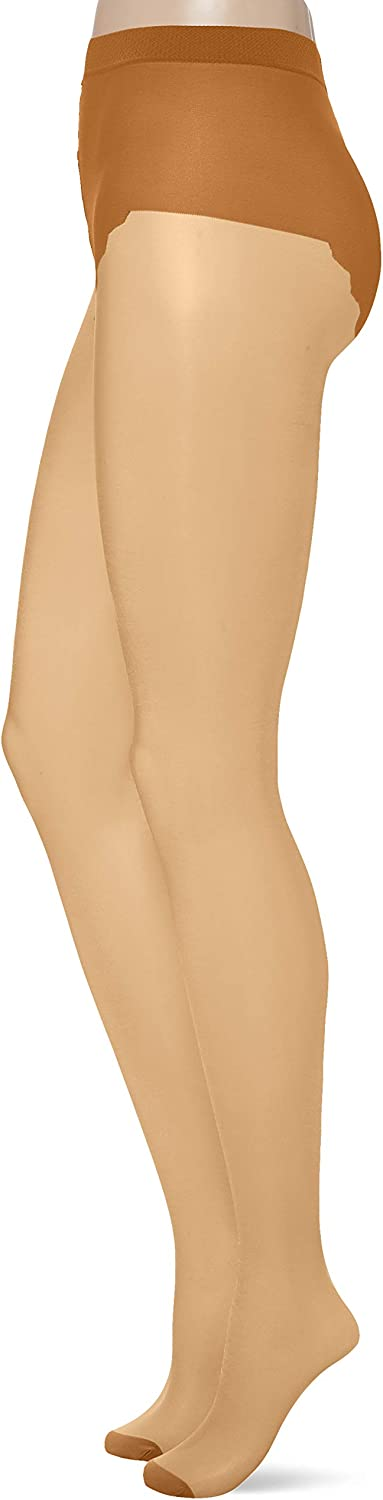 Hlgt Highlight Beige Donna Medium Pretty Polly Nylons 10d Gloss Tights Collant Pacco da 3 10