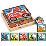 Melissa & Doug Vehicles Cube Puzzle