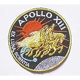 """NASA APOLLO XIII 13 sew iron on Patch Badge Embroidery 7.5x7.5 cm 3"""""""