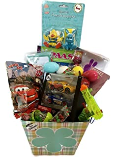 Amazon deluxe cars lightning mcqueen christmas gift baskets easter gift baskets for boys disney cars lightning mcqueen toys pass egg decoration kit negle Choice Image