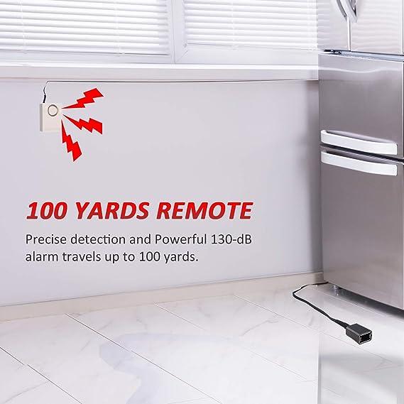 Amazon.com: Alarma de agua con detector de fugas de agua a ...