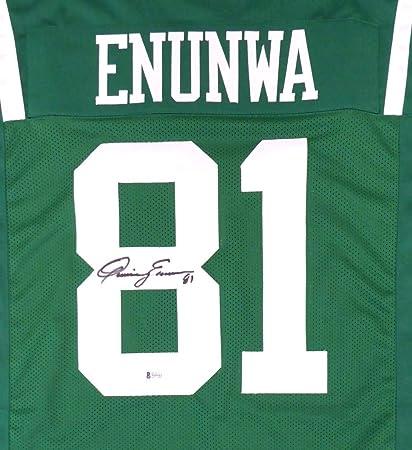 super popular 40e4c 7760c New York Jets Quincy Enunwa Autographed Green Jersey Beckett ...