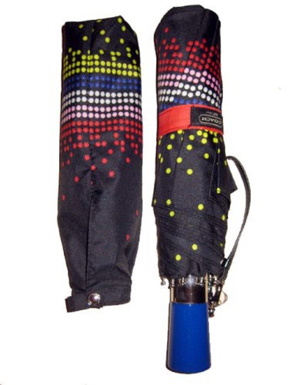 Coach Rhinestone Compact Umbrella