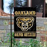 Oakland Golden Grizzlies Garden Flag and Yard Banner