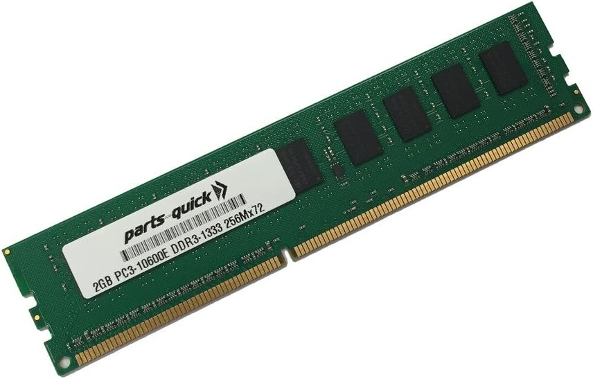 parts-quick 2Gb Memory For Asus Sabertooth Motherboard 990Fx R2.0 Ddr3 Pc3-10600E Ecc Udimm (Parts-Quick Brand)