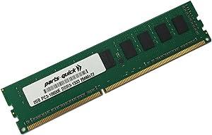 2GB Memory for Dell PowerEdge T310 DDR3 PC3-10600E ECC UDIMM (PARTS-QUICK Brand)
