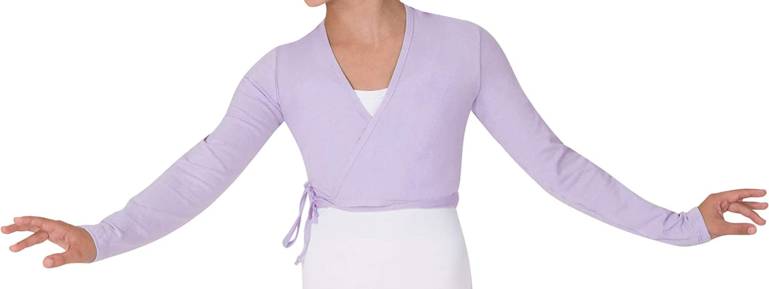 Body Wrappers 3201 Child Long Sleeve Wrap Sweater