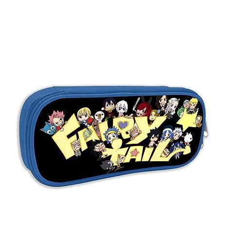 Amazon.com : Pencil Case Fairy Tail Lively Students Pen Bags ...