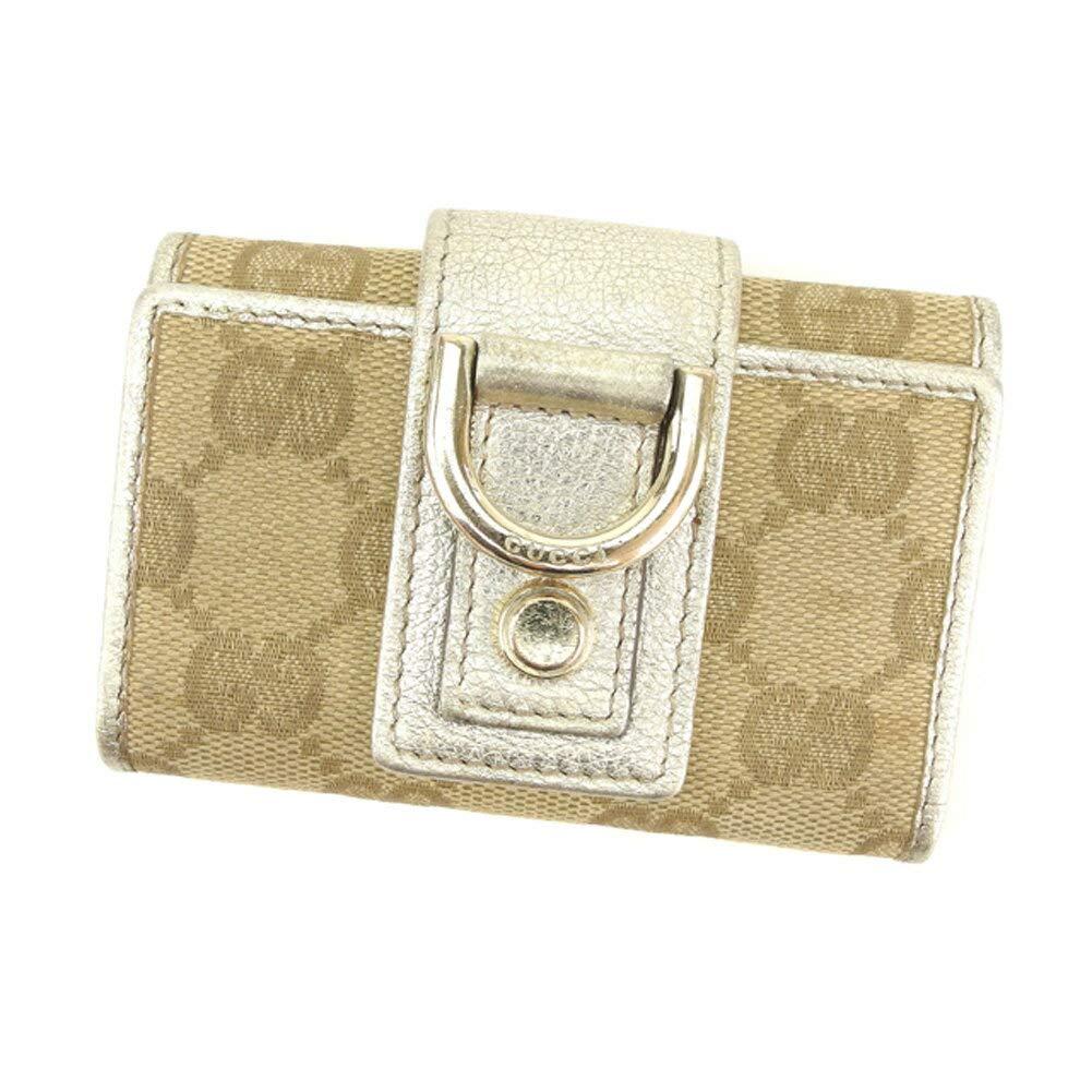 (グッチ) Gucci キーケース 6連キーケース アビー GGキャンバス レディース 中古 S918   B07JLP8Y74