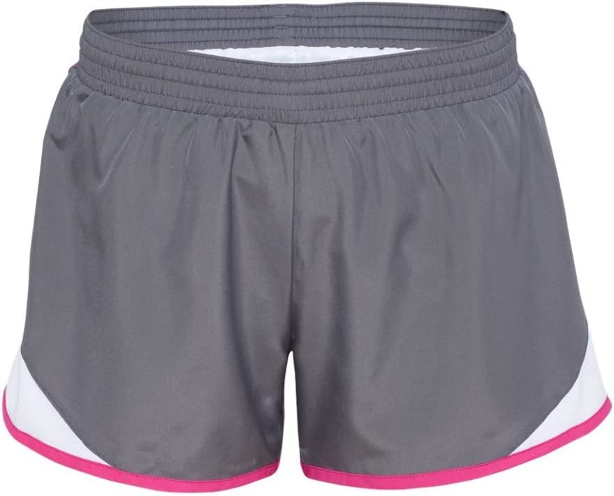 Augusta Sportswear Women'S Junior Fit Adrenaline Short S Graphite/White/Power...