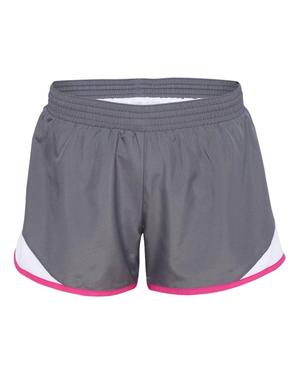 Augusta Sportswear Women'S Junior Fit Adrenaline Short S Graphite/White/Power...