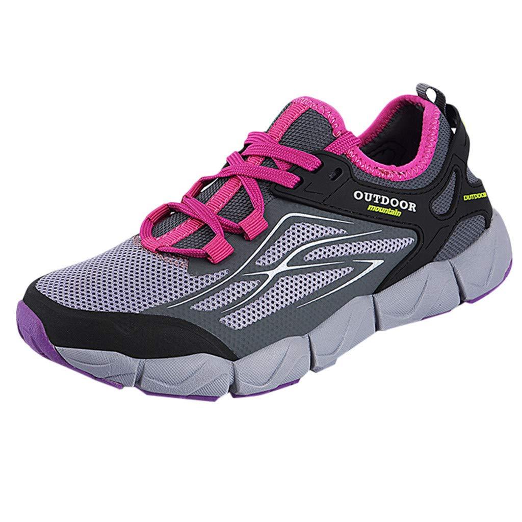 Moonker Ladies Slip On Sneakers Wide Width Walking Shoes Women Outdoor Mesh Lightweight Breathable Running Shoes