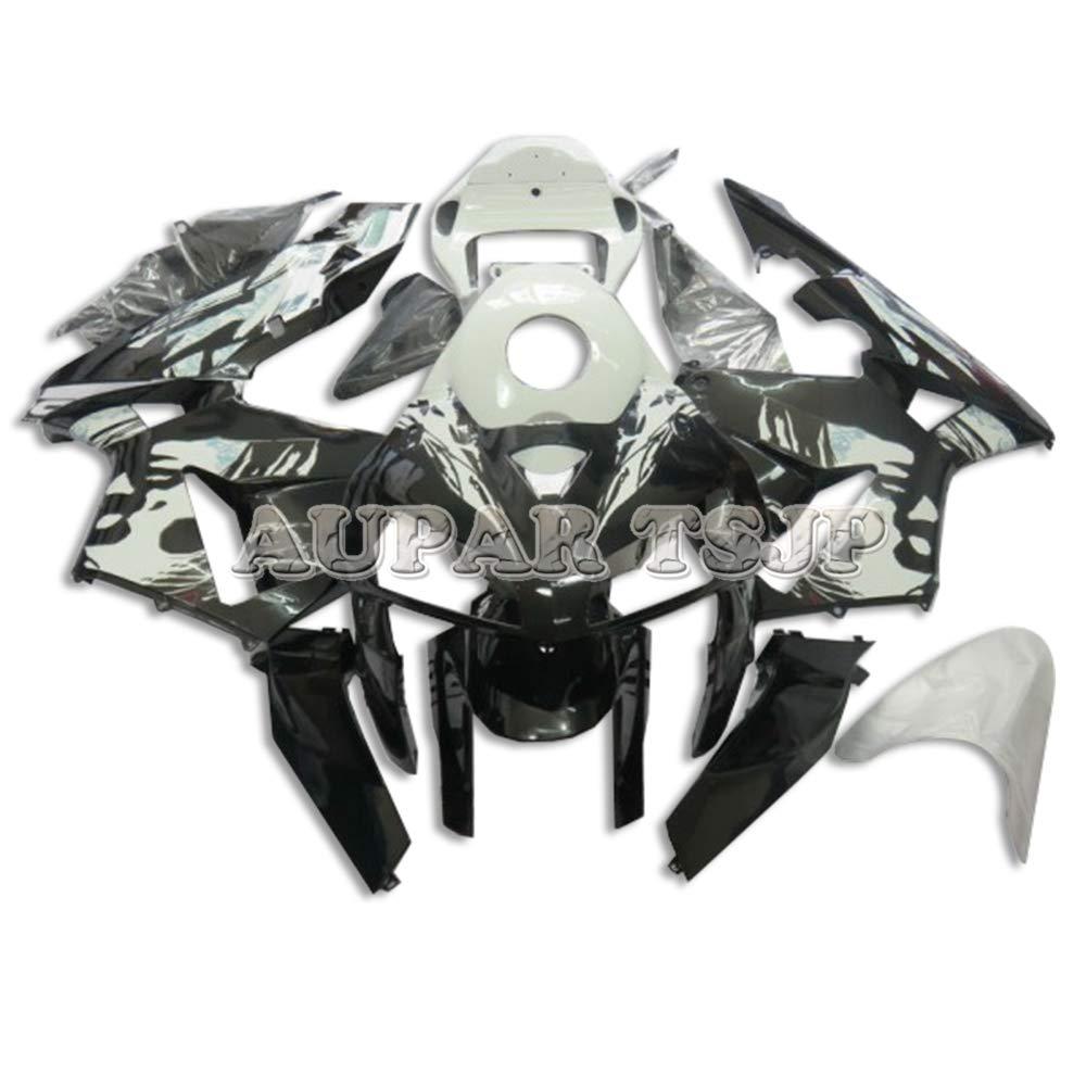 AUPARTSJP ABSプラスチック射出外装部品セットアダプティブフルフェアリングキットフィットホンダCBR600RR F5 2005年2006 CBR 600RR 05 06オートバイフェアリングの女性の花   B07S89WQ5D