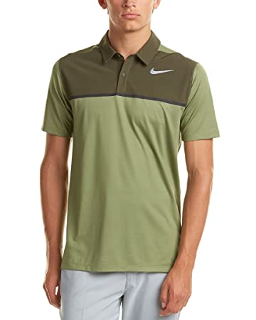 Nike Golf Mens Men's Mobility Remix Polo, S, Green