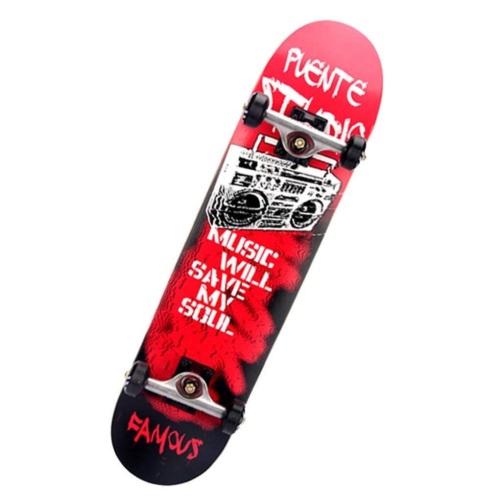 超歓迎 4輪 - プロフェッショナル - ブラシストリート - 耐衝撃 f - F - 衝撃吸収 - 初心者 - スケートボード B07HCW32Z9 F f, 名入れ記念品プレゼントのビブレス:0a2d891c --- a0267596.xsph.ru