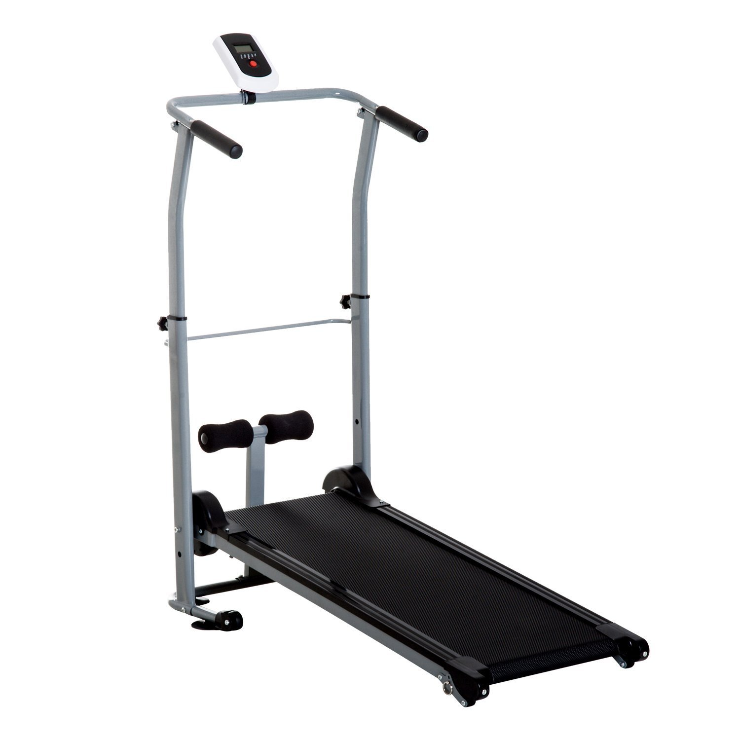 Soozier Folding 2-in-1 Manual Walking Incline Treadmill and Sit Up Exercise Machine by Soozier (Image #1)