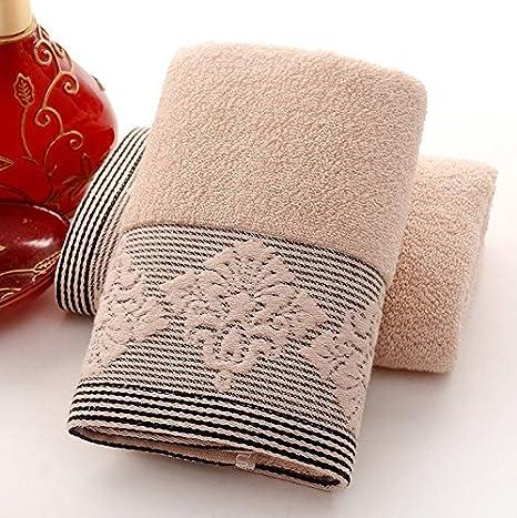 Salones de belleza absorbente de algodón Toallas 2 Hotel peluquería 34cm * 76cm,Un: Amazon.es: Hogar