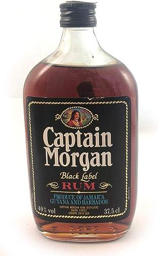 Captain Morgan Black Label Jamaica Rum 1980s (37.5cl) en una ...