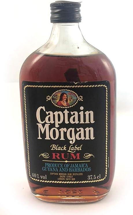 Captain Morgan Black Label Jamaica Rum 1980s (37.5cl) en ...