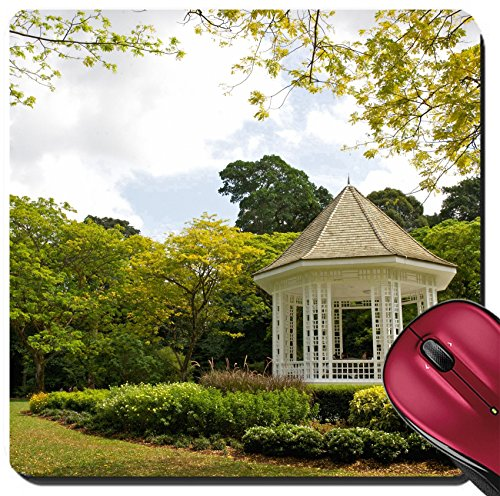 Bandstand Music (Liili Suqare Mousepad 8x8 Inch Mouse Pads/Mat A gazebo known as The Bandstand in Singapore Botanic Gardens Music Photo 8382962)