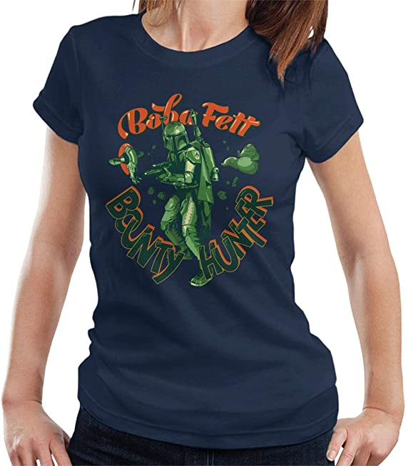 Star Wars Boba Fett Bounty Hunter Jabba Slave I Women's T-