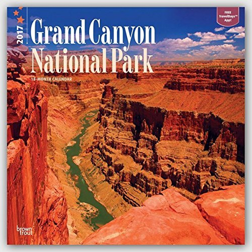 "Grand Canyon National Park 2017 Wall Calendar 12"" x 12"""