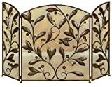 Deco 79 71889 Metal Fire Screen, 48