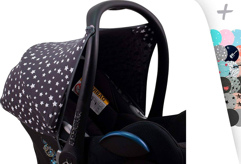 Maxi-cosi Cabriofix Hood Canopy by Janabeb/é/® Black Series