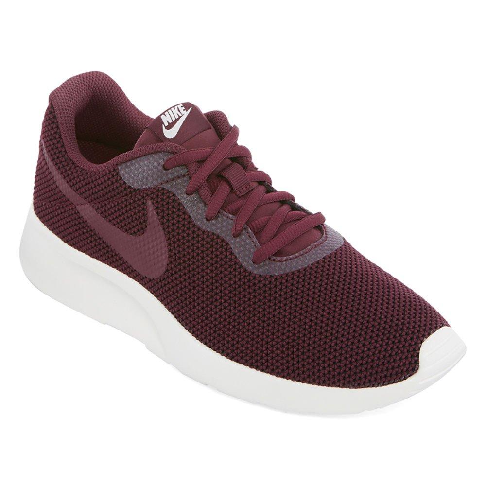 NIKE Women's Tanjun SE Running Shoes Sport Night Maroon 7.5