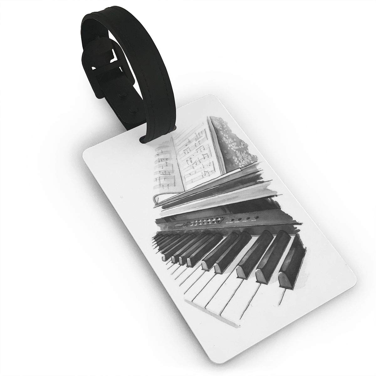 2 Pack Luggage Tags Pianos Travel Tags For Travel Tags Accessories