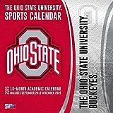 Ohio State Buckeyes: 2020 12x12 Team Wall Calendar
