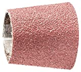PFERD 41356 Tapered Type Abrasive Spiral Band, Aluminum Oxide A, 1-1/8 to 7/8'' Diameter x 1-3/16'' Length, 60 Grit (Pack of 100)