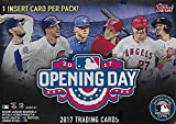 2017 Topps Opening Day Baseball Series Unopened Blaster Box with 11 Packs of 7 Cards Possible Autographs and Used Relics Cards