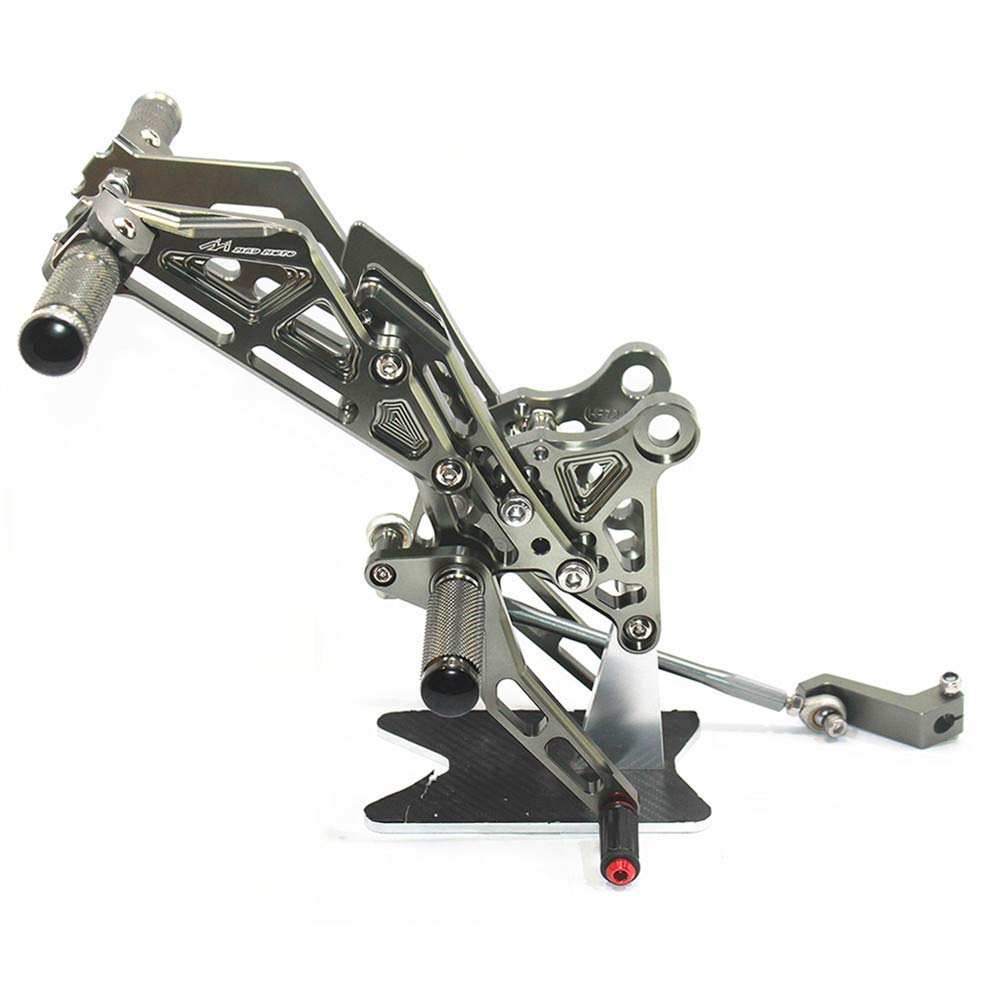 Rearsets Rear Sets Footpegs CNC Adjustable For Honda GROM MSX125 2013-2015 UBuy