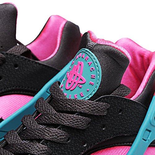 Scarpe da Multicolore Ginnastica Huarache Negro Uomo Air Rosa Nike Verde q1AwWTRvx1