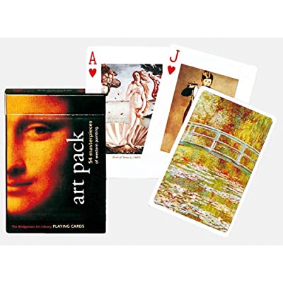 Gibsons Games Piatnik Playing Cards - The Art Pack Single Deck: Toys & Games
