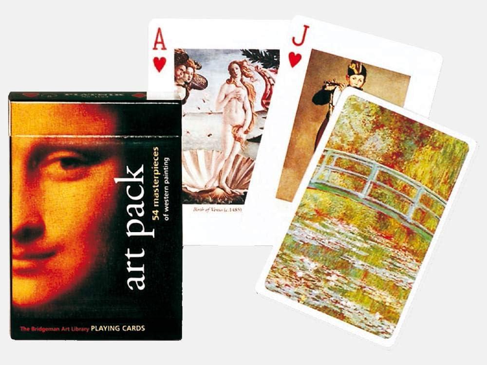 B0002HYPVQ Piatnik Art Pack Single Deck Playing Cards (Set of 52 Cards) 61wWh2Bfz8GL