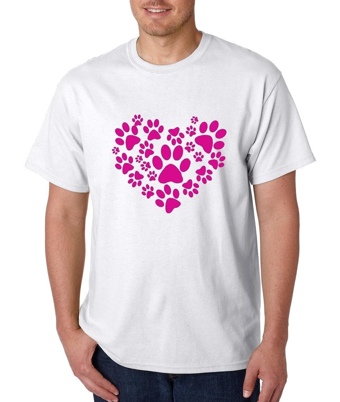 Paw Heart T-shirt Animal Love Shirts