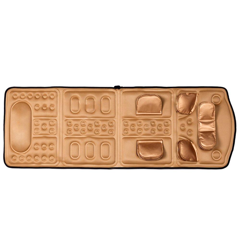 【18%OFF】 HAIZHEN マッサージチェア Brown ネックマッサージャー用品ホーム多機能マッサージクッションのボディマッサージブランケット (色 HAIZHEN : ゴールド) B07BCF3PS7 Brown : Brown, 北高来郡:46f85c80 --- svecha37.ru